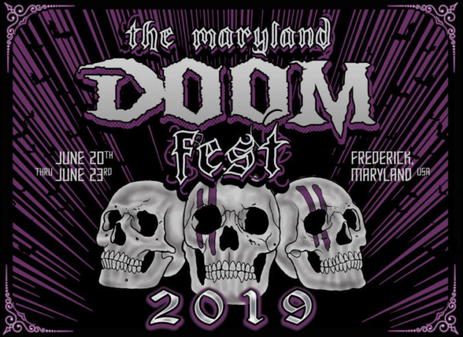 THE MARYLAND DOOM FEST 2019 - Feat. PENTAGRAM, CONAN, MOTHERSHIP, EARTHRIDE [Playlists]
